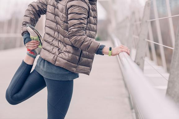 Μην ξεχνάτε την καλή προθέρμανση πριν το τρέξιμο.