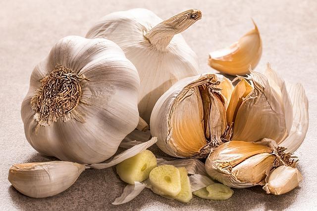 Το σκόρδο είναι γνωστό για τις αντιβακτηριδιακές του ιδιότητες.