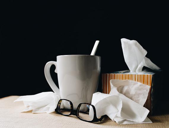 Η ενυδάτωση είναι σημαντική ενώ είμαστε άρρωστοι.