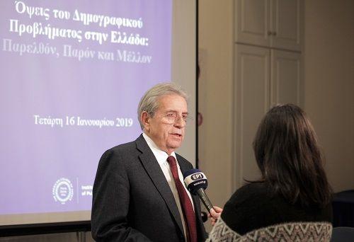 Ο Διευθυντής του Ινστιτούτου Δημόσιας Υγείας του Αμερικανικού Κολλεγίου Ελλάδος, κύριος Παναγιώτης Μπεχράκης: