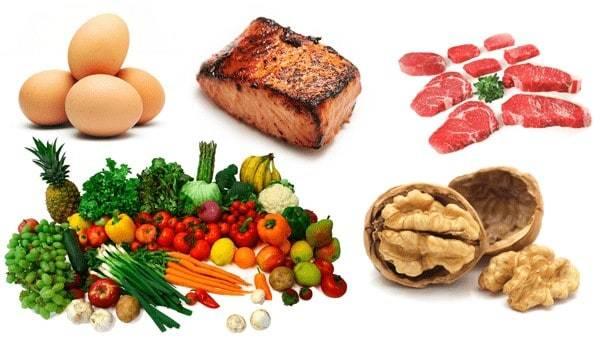 Οι τροφές δίαιτας.