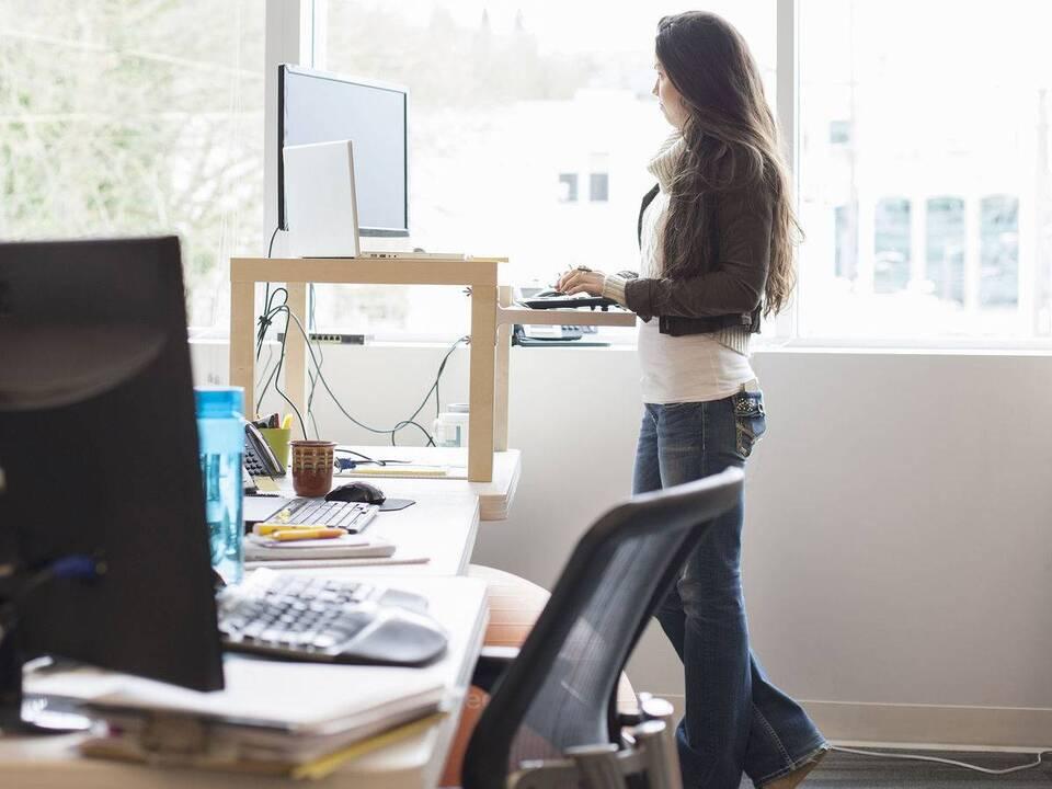 Καθιστική Εργασία των Υπαλλήλων Γραφείου; Όχι πια