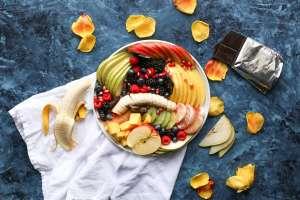 Η συμβολή των λαχανικών και των φρούτων στο αδυνάτισμα είναι σπουδαία.