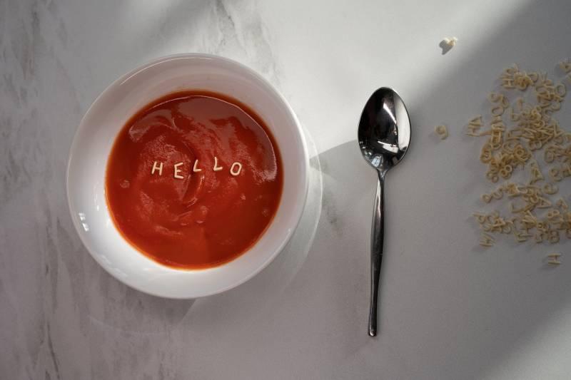 Σούπα για πρώτο πιάτο