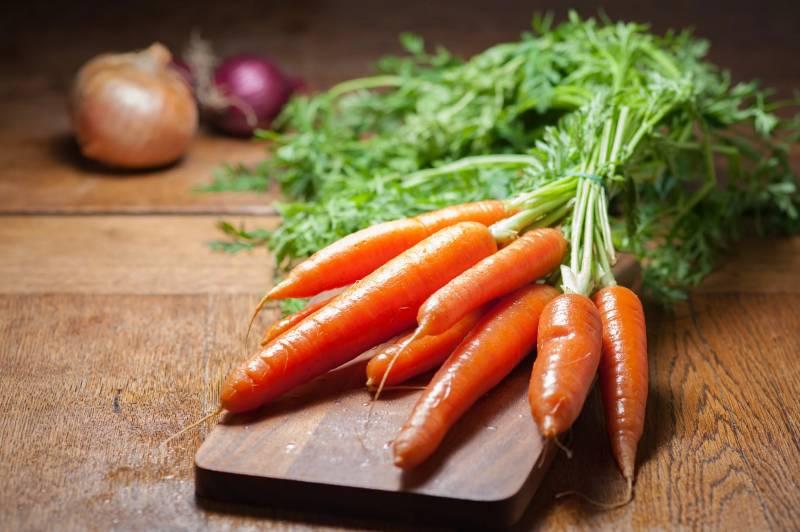 Καρότο για μαύρισμα
